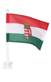 Ungarische Autofahne mit Wappen