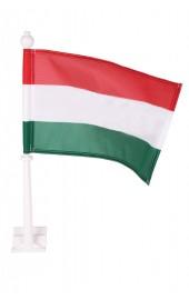 Ungarische Autofahne