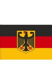 Deutschland Flagge mit Adler
