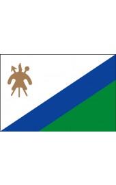 Lesotho Flagge