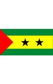 Sao Tomé Flagge