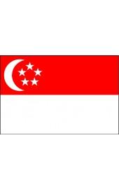 Singapur Flagge