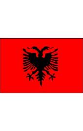 Albanien Flagge