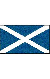 Schottland Flagge