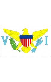 Amerikanische Jungferninseln Flagge