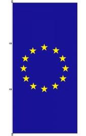 EU Flagge mit Karabinerkonfektion