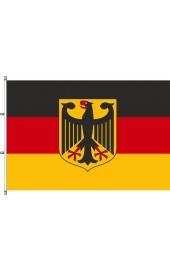 Deutschland fahnen mit Adler und Karabinerkonfektion