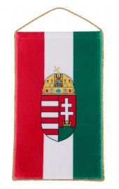 Ungarische Tischflagge mit Wappen