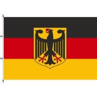 Deutsch-EU-Trauer Fahnen für Fahnenmasten