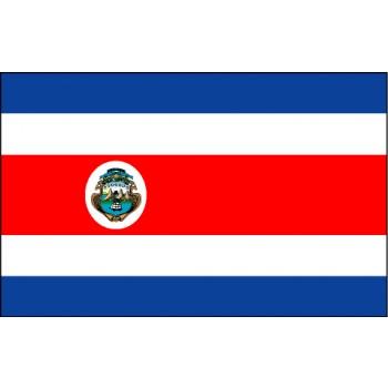 Costa Rica Flagge