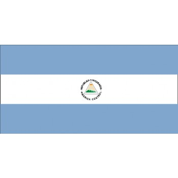 Nicaragua Flagge