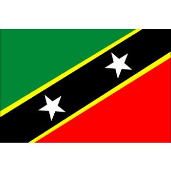 St. Kitts und Nevis Flagge